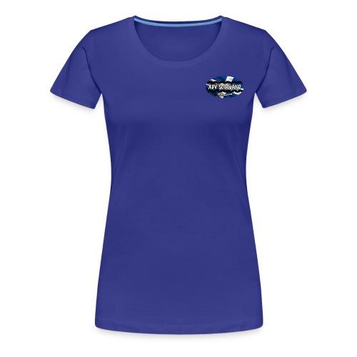 Womens T (Plain Black) - Women's Premium T-Shirt