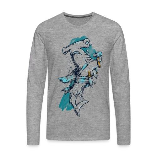 SHARK | Longsleeve - Männer Premium Langarmshirt