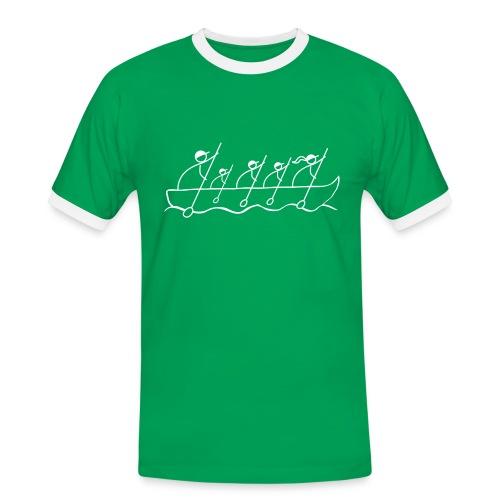 5-ro v lodke Man 2 - Männer Kontrast-T-Shirt