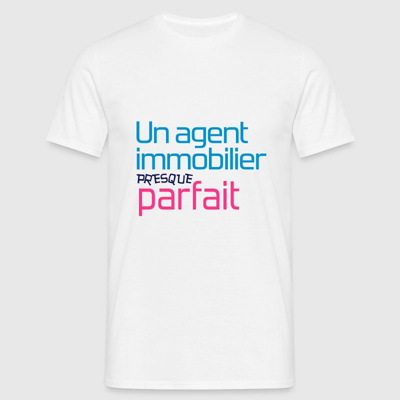 Agent Immobilier / Appartement / Maison / Immeuble Tee shirts - T-shirt Homme
