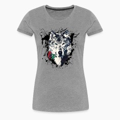 Wolf with Rose, Love Symbol, Wolves, Freedom,  T-Shirts