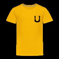 Paidat ~ Lasten premium t-paita ~ Keltainen T-paita