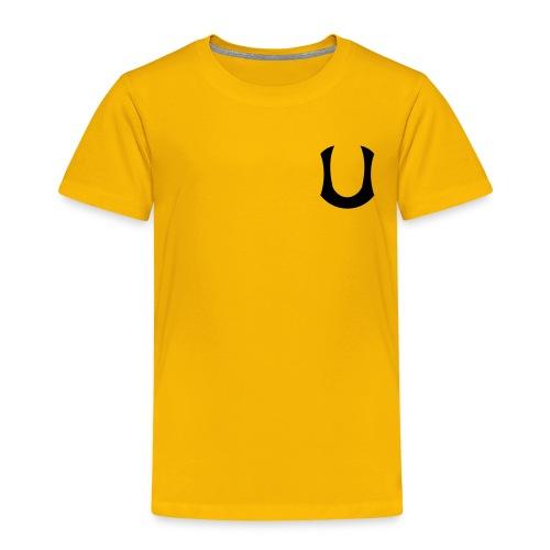 Keltainen T-paita - Lasten premium t-paita
