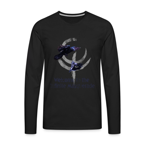 Masquerade Infinite Men's Long Sleeve 2 - Men's Premium Longsleeve Shirt