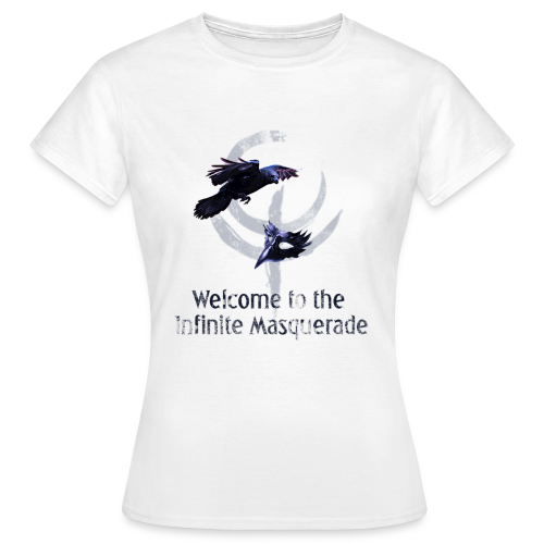 Masquerade Infinite Women's T-Shirt 2 White - Women's T-Shirt