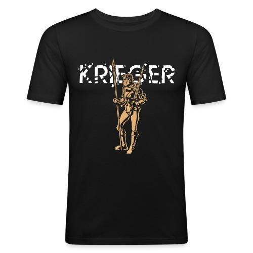 Krieger - Herren-Shirt slim-fit - Männer Slim Fit T-Shirt