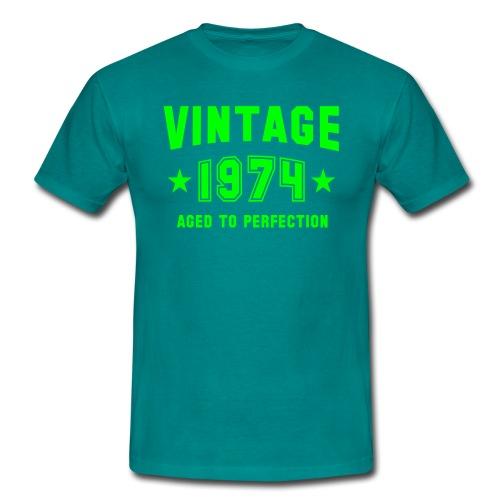 Vintage 1974 - Männer T-Shirt