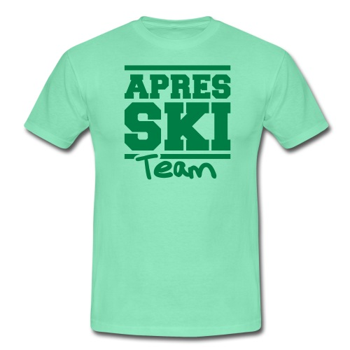Apres ski team - Männer T-Shirt