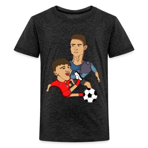 T-Skjorte - Ungdom - Premium T-skjorte for tenåringer