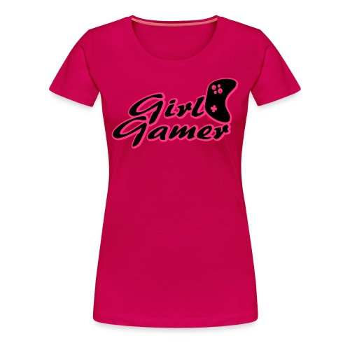GIRL GAMER T SHIRT - Women's Premium T-Shirt