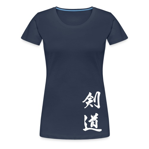 T-shirt, kendo dam (flera färger) - Premium-T-shirt dam