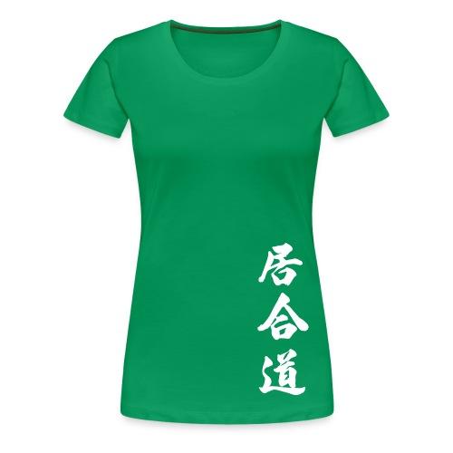 T-shirt, iaido dam (flera färger) - Premium-T-shirt dam