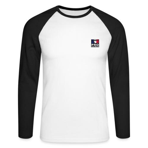 T-Shirt Officiel Gamer FR - T-shirt baseball manches longues Homme