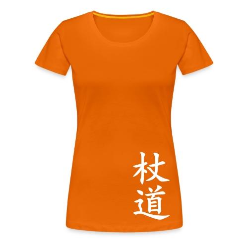 T-shirt, jodo dam (flera färger) - Premium-T-shirt dam