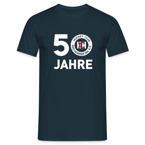 50 Jahre HCH Jubiläumsshirt - Männer T-Shirt