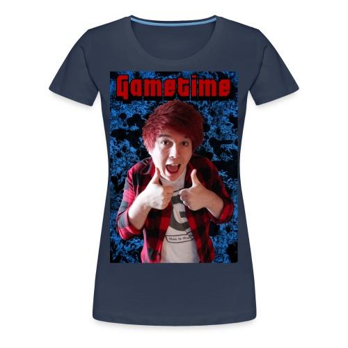 Gametime NAVY BLUE - Women - Premium T-skjorte for kvinner