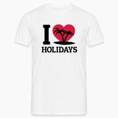 I love Holidays T-Shirts