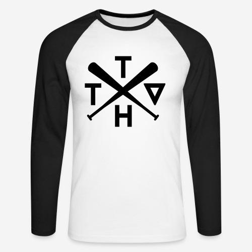 THTV Baseball Langarm - Männer Baseballshirt langarm