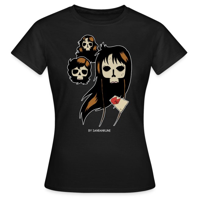 T-shirt femme Dead Cat's eyes