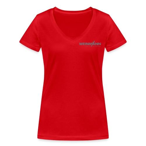 Frauen T-shirt mit V Ausschnitt - Frauen Bio-T-Shirt mit V-Ausschnitt von Stanley & Stella