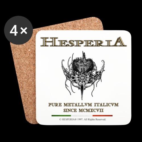HESPERIA - Sottobicchiere-old Logo - Coasters (set of 4)