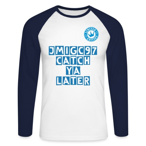 JMIGC97 Long sleeve  - Men's Long Sleeve Baseball T-Shirt
