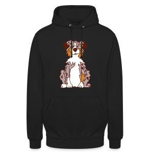 Red Merle Australian Shepherd - Unisex Hoodie