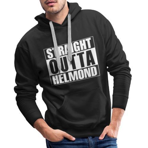 Straight outta Helmond - Mannen Premium hoodie