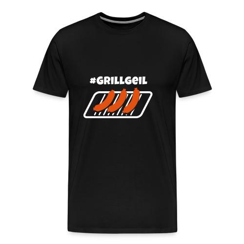 #Grillgeil Wurst - Männer Premium T-Shirt