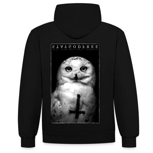 STAY. GF - Contrast hoodie