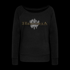 HESPERIA Girlie Sweat Shirt - Women's Boat Neck Long Sleeve Top