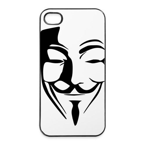 Anonymous - Coque rigide iPhone 4/4s