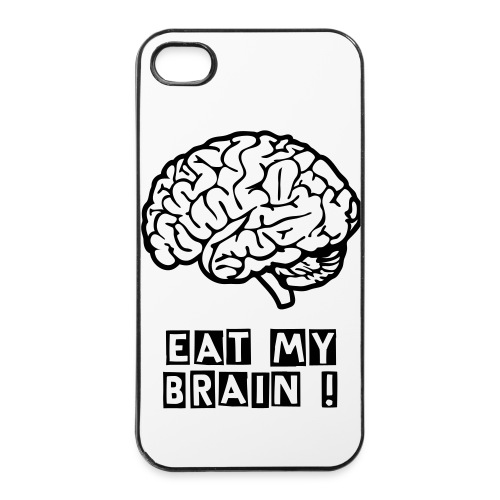 Brain - Coque rigide iPhone 4/4s