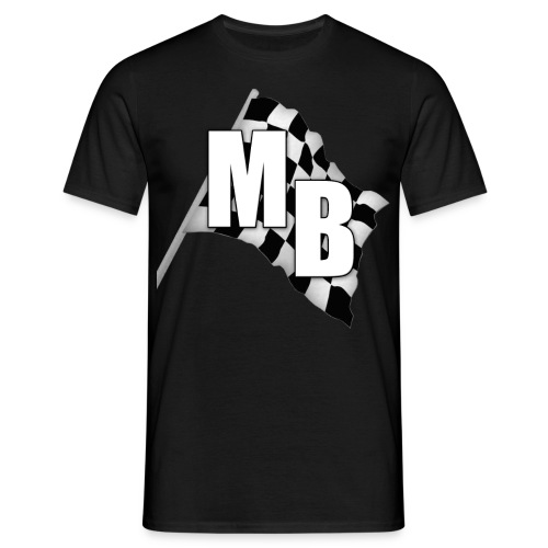 Logo Zielflagge T-Shirt - Männer T-Shirt