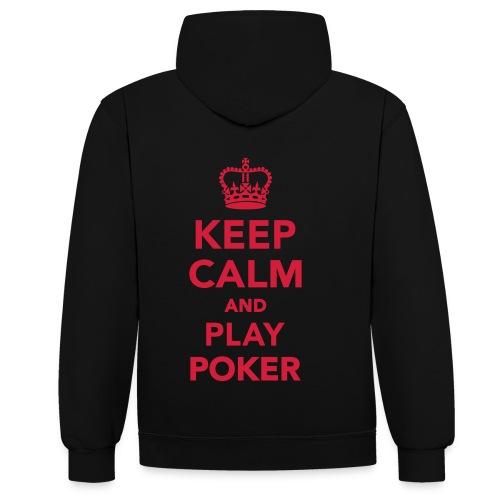 Poker Hoodie 2 - Kontrast-Hoodie
