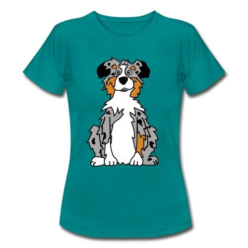 Blue Merle Australian Shepherd - Frauen T-Shirt