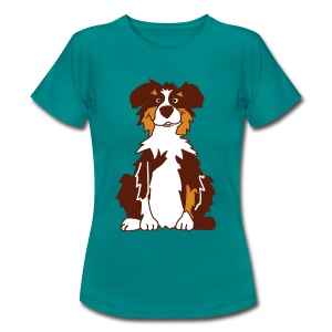 Red Tri AustralianShepherd - Frauen T-Shirt