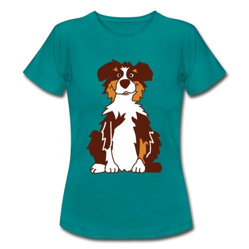Red Tri AustralianShepherd - Frauen T-Shirt