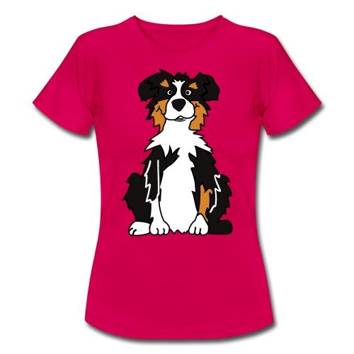 Black Tri Australian Shepherd - Frauen T-Shirt