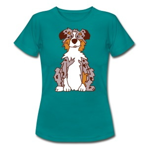 Red Merle Australian Shepherd - Frauen T-Shirt