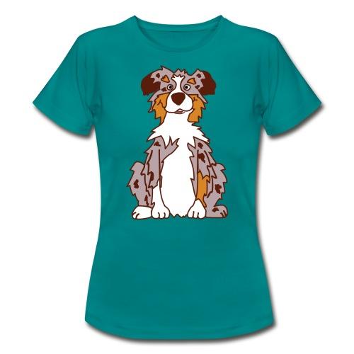 Red Merle Australian Shepherd - Frauen T-Shirt