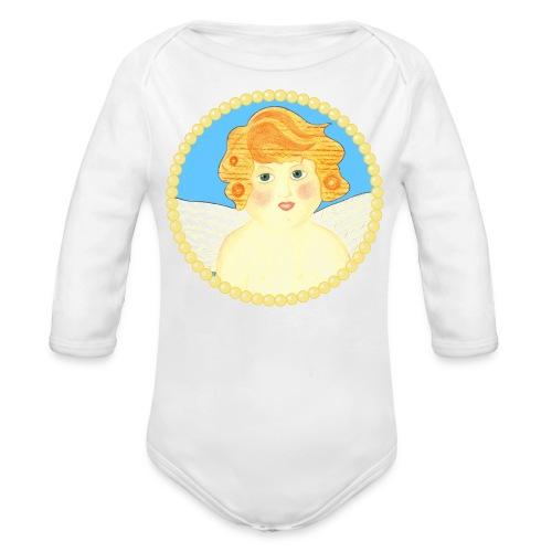 Engel Tanael Baby Body Langarm - Baby Bio-Langarm-Body