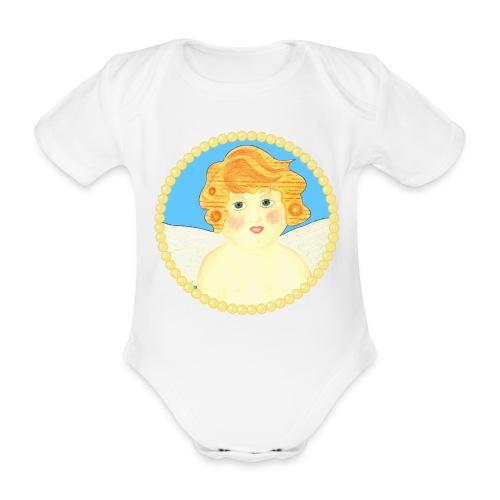 Engel Tanael Baby Body Kurzarm - Baby Bio-Kurzarm-Body