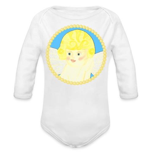 Engel Daniel Baby Body Langarm - Baby Bio-Langarm-Body