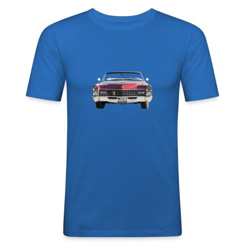 Cadillac Frontal - Männer Slim Fit T-Shirt