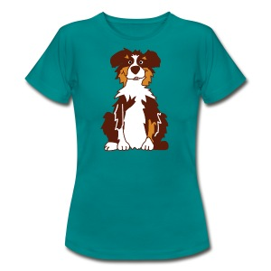 Red Tri Australian Shepherd vh - Frauen T-Shirt