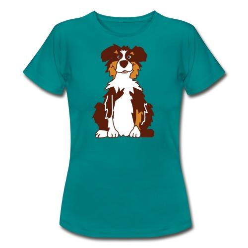 Red Tri Australian Shepherd vh - Frauen T-Shirt