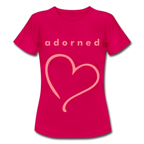 adorned Charity Heart T-Shirt (Womens) - Women's T-Shirt