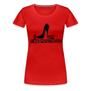 Mistress & Shoe lateral - Camiseta premium mujer