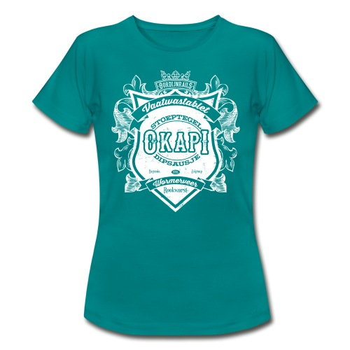 Okapi vrouwen t-shirt - Vrouwen T-shirt